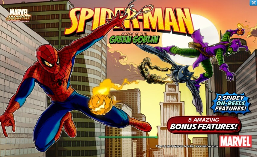 NEW Spiderman Slot