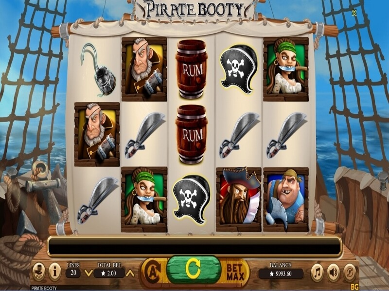 Pirate Booty Online Slot Game