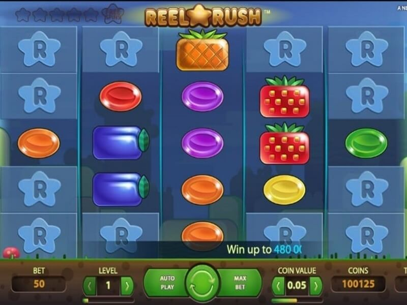 Reel Rush™ – A 3125-Ways-to-Win Online Slots Creation