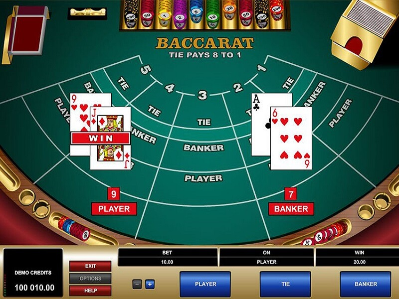 Spin Palace Baccarat