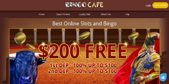 Bingo Café screenshot