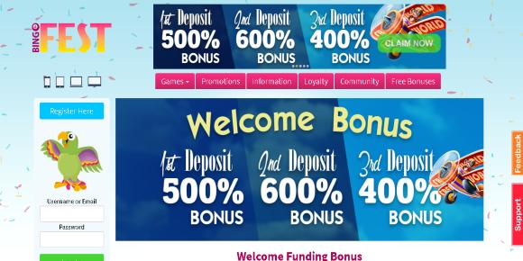 bingo fest screenshot