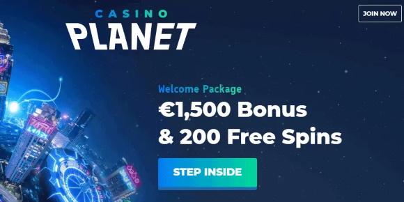 casino planet screenshot