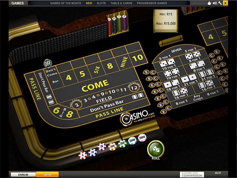 Casino.com Craps