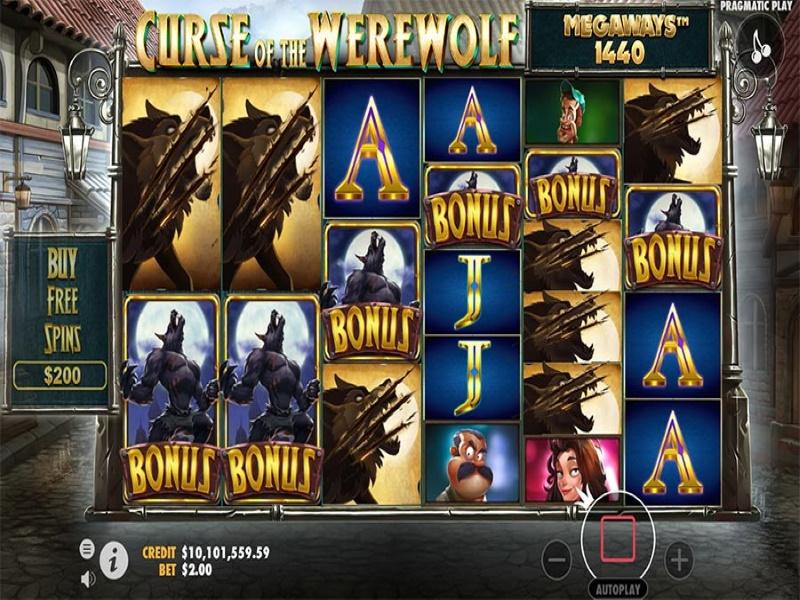 curse of the werewolf screenshot