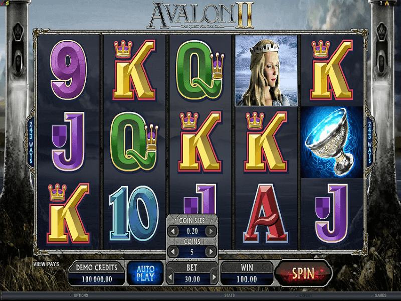 Avalone II Slots