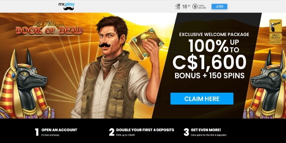 Play at Mr Play Online Casino