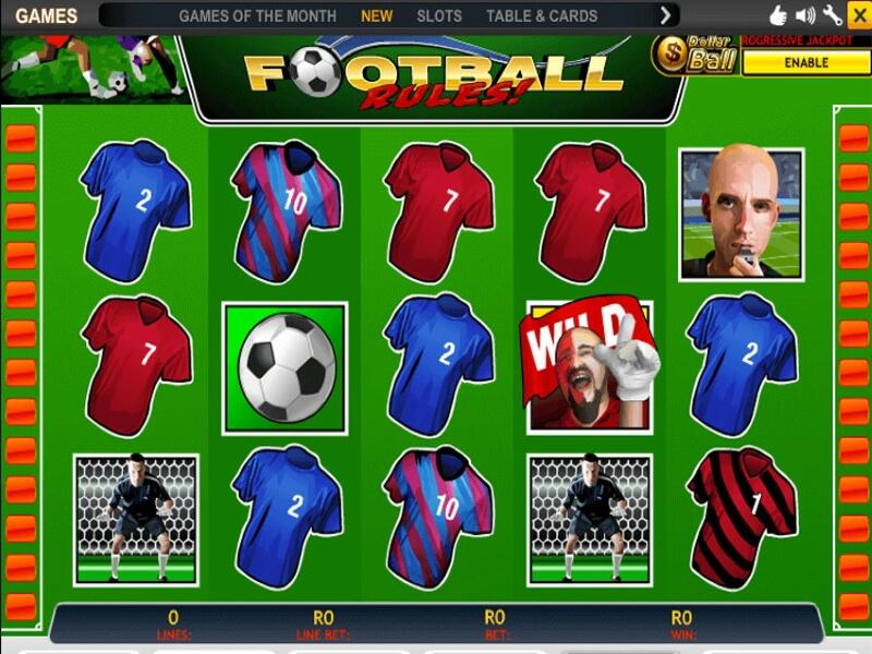 Football Rules Video Slot