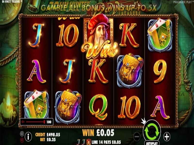 John Hunter slot game screenshot