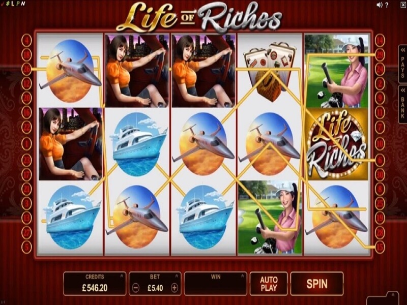 Life of Riches Online Slots