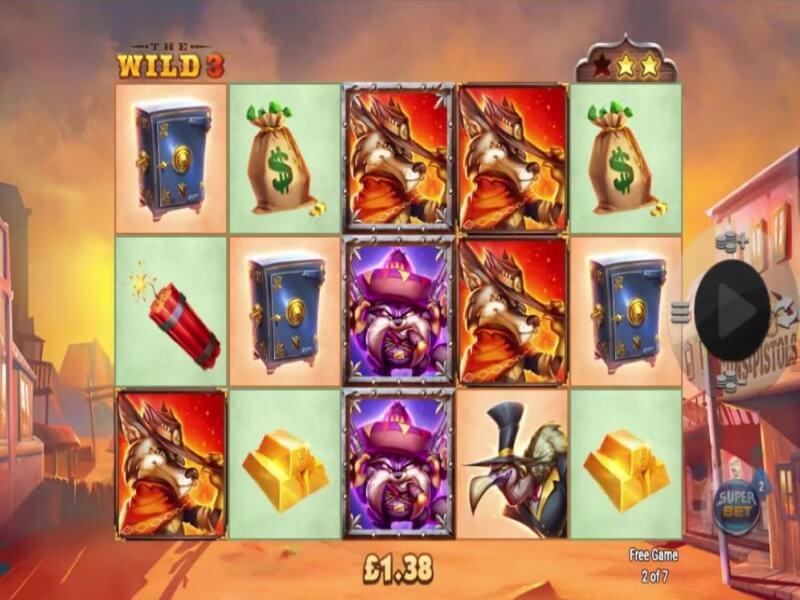 The Wild 3™ Online Slots Game from NextGen