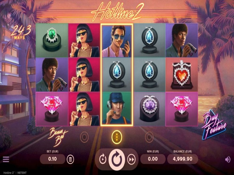 Hotline™ 2 | An Action-Packed Online Slot in Canada