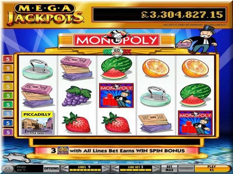 Monopoly Mega Jackpots