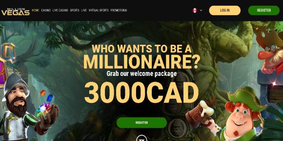 million vegas screenshot