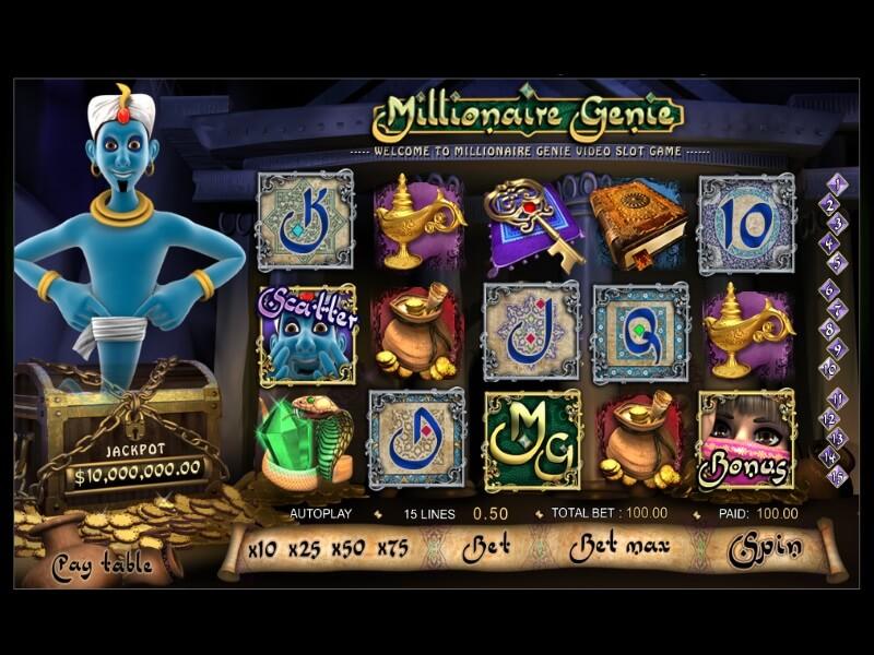 Millionaire Genie Screenshot