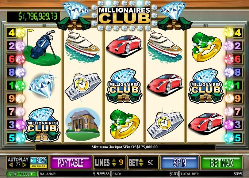 Millionaires Club Online Slot