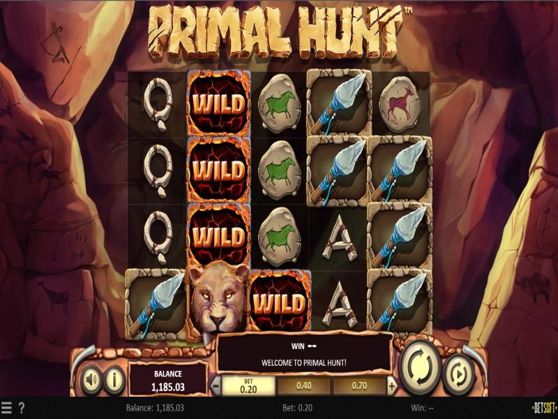 Primal Hunt™ | A Wild Online Slot in Canada