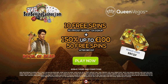 Queen Vegas Casino Banner