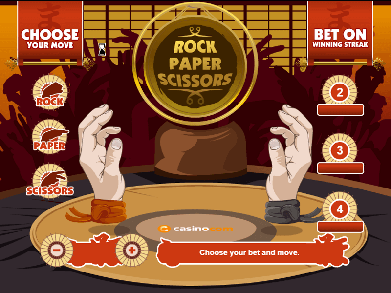 Rock Paper Scissors Slots