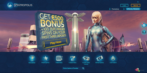 Spintropolis Screenshot