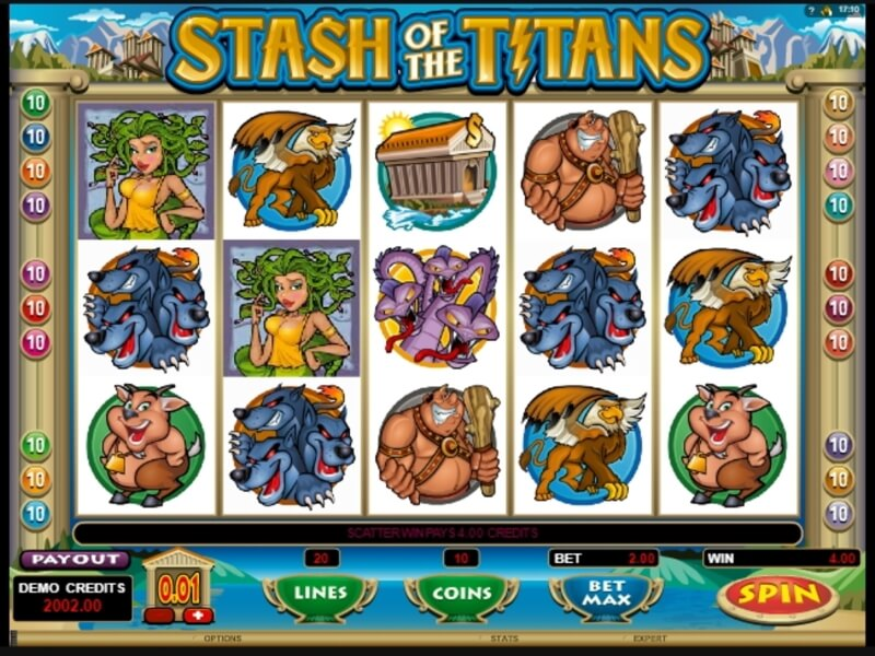 Stash of the Titans Slots