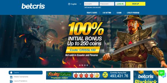BetCris Homepage