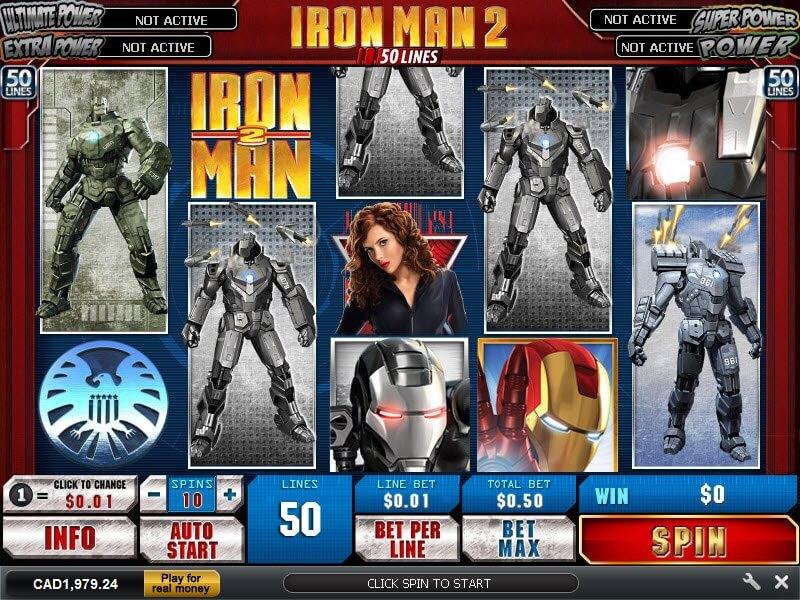 Iron Man II Screenshot