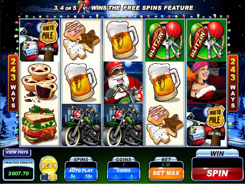 Santas Wild Ride Screenshot