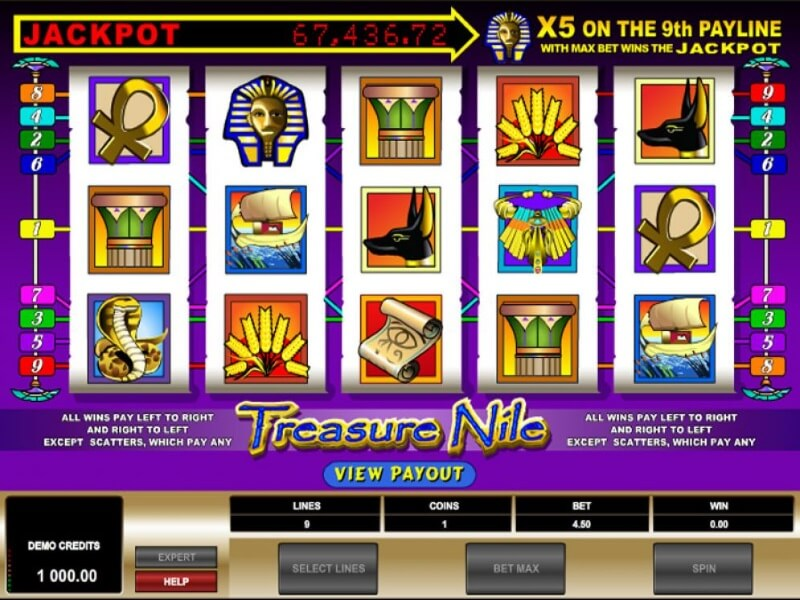 Treasure Nile Screenshot