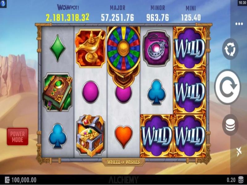 wheel of wishes screenshot