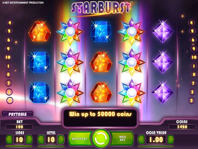 Starburst™ Online Slots Review