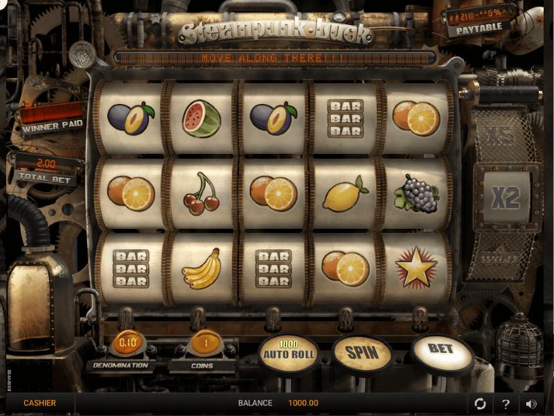 Steampunk Luck Online Slots