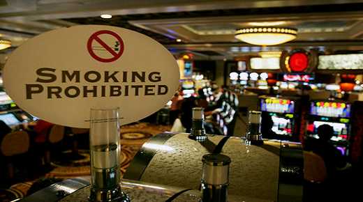 Casino smoking banned