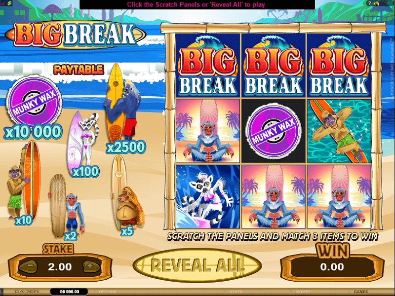 Big Break Scratchcard