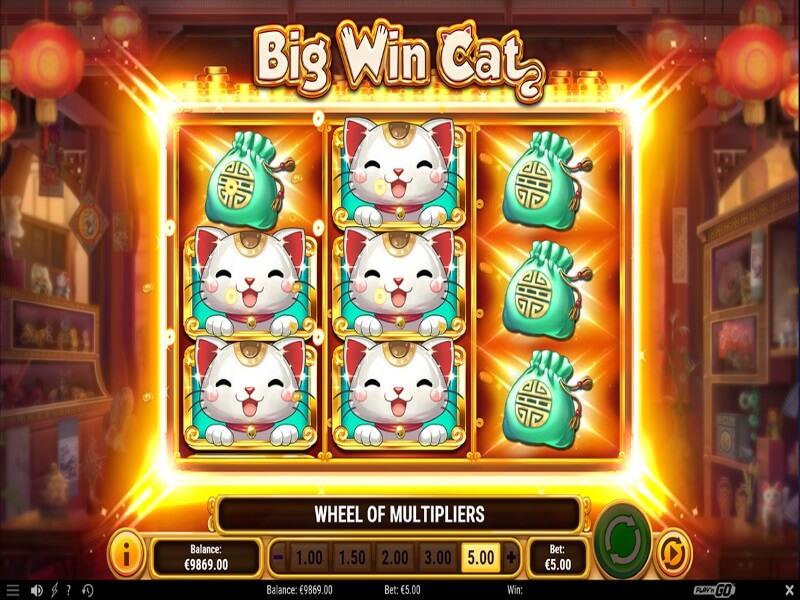 Big Win Cat Online Slots