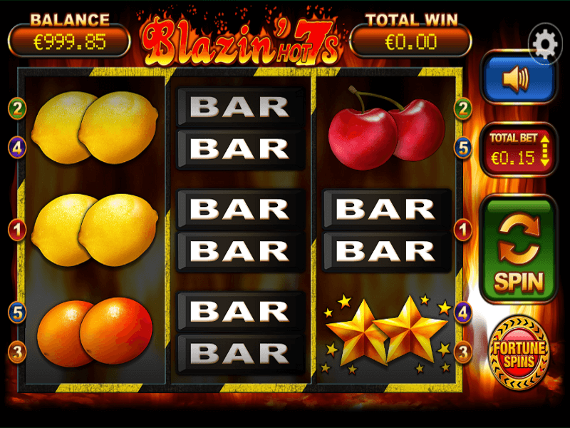 Blazin ' Hot 7s Slots