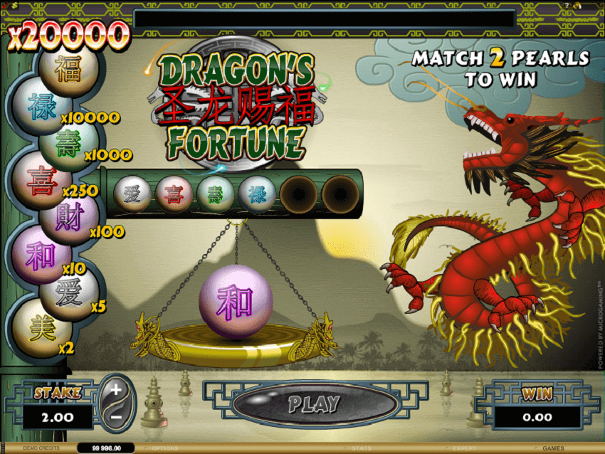 Dragon's Fortune Slot