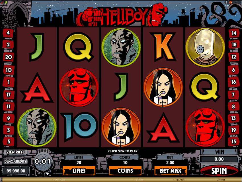 Hellboy Slots