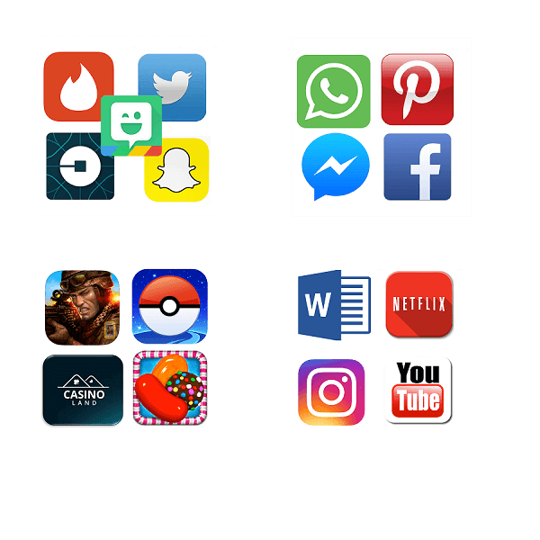 Favourite Apps in the Canada