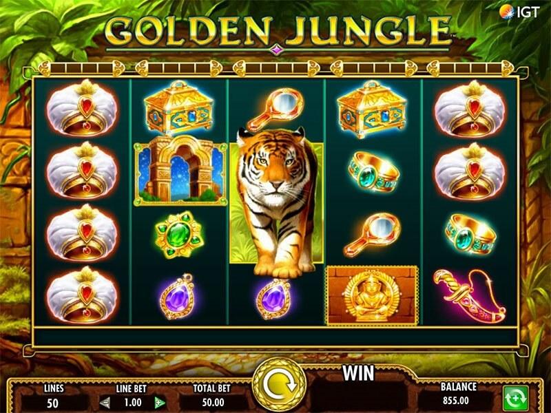 Golden Jungle Video Slot