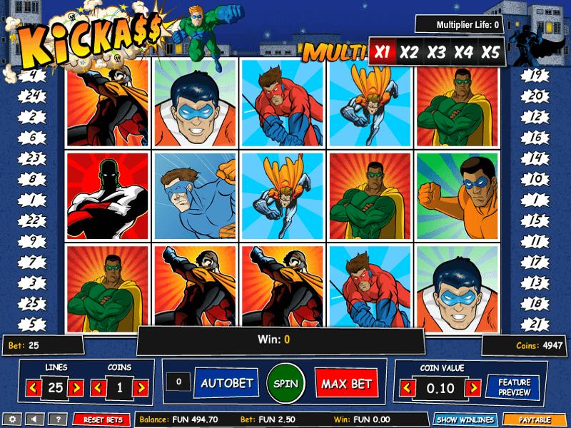 Kick Ass Online Slot