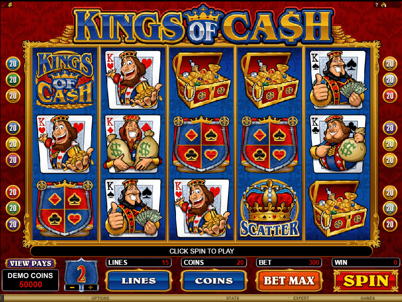 Kings of Cash Slots
