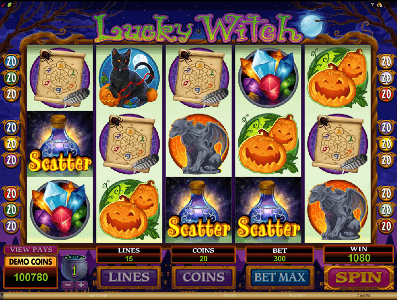 Lucky Witch Slots