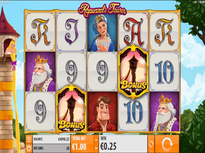 Rapunzel's Tower Online Slot