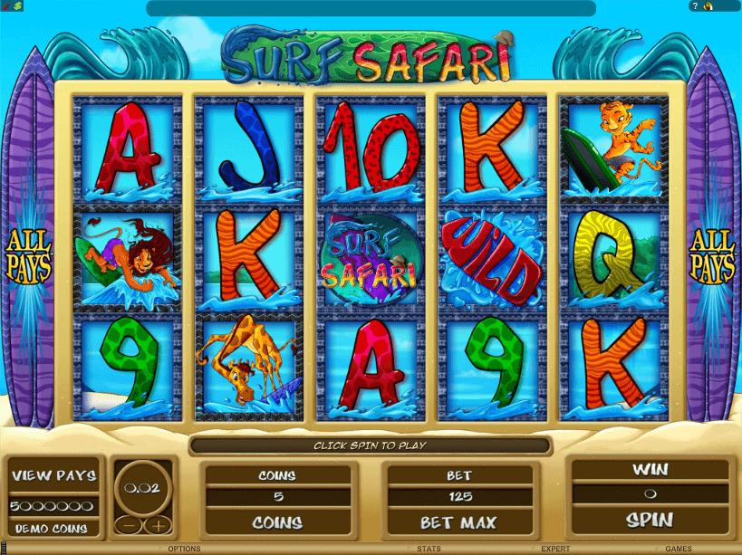 Surf Safari Slots