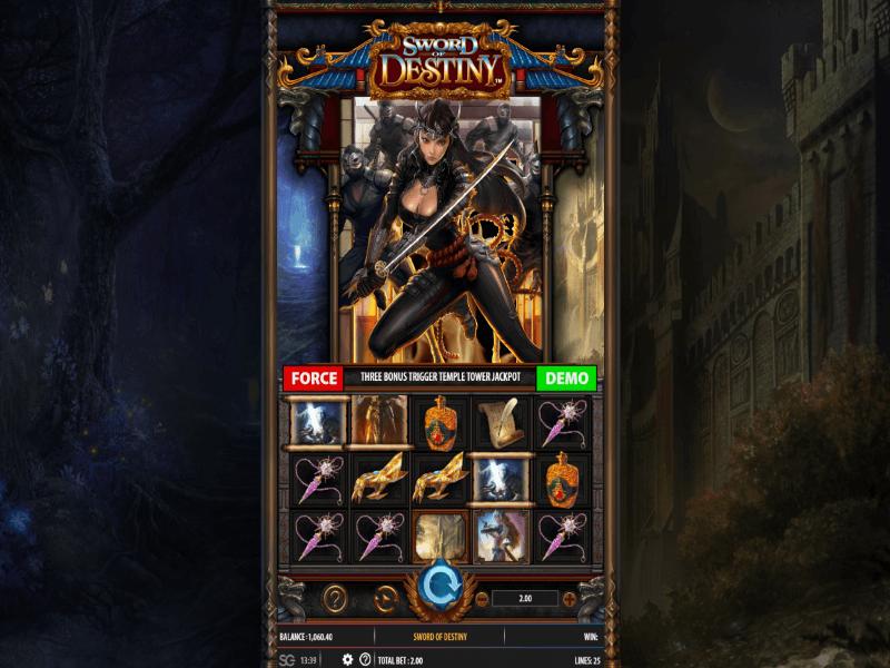 Sword of Destiny™ Online Slot