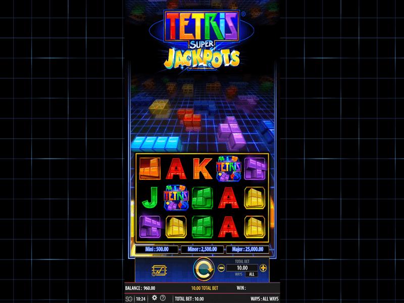 Tetris™ Super Jackpots