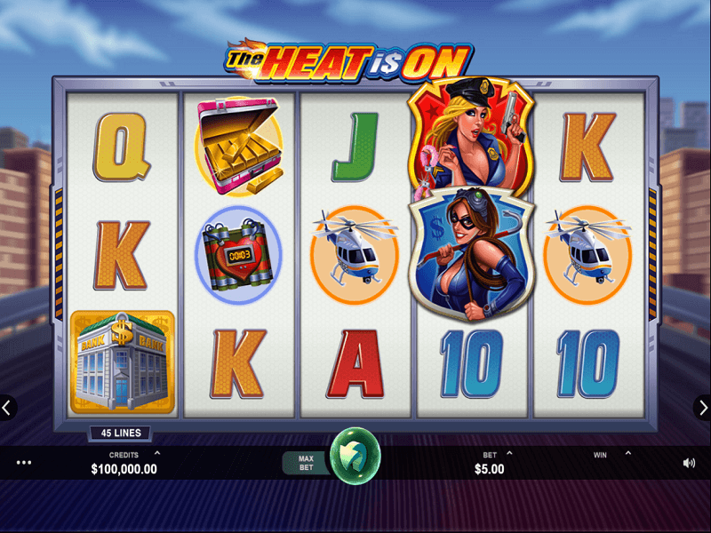 The Heat is On: Video Slot