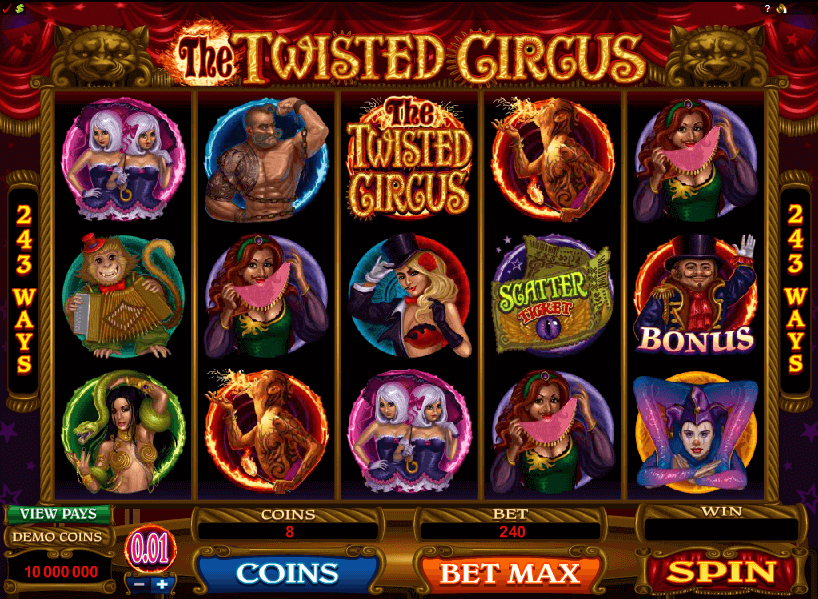 The Twisted Circus Slots