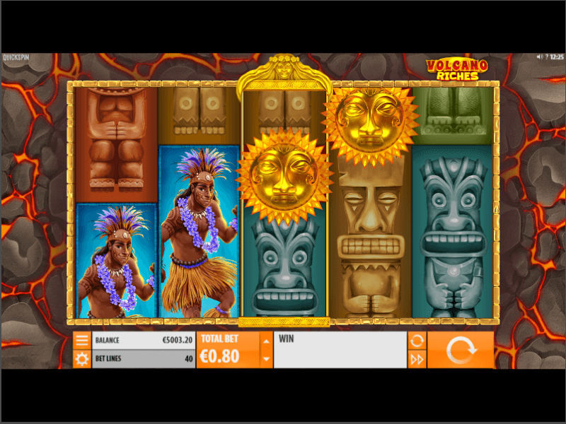 Volcano Riches Online Slots Game